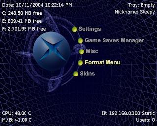 UnleashX Xbox Dashboard