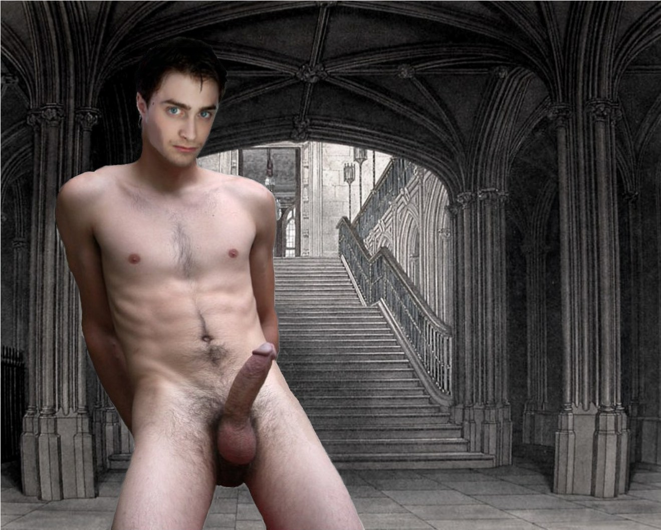 fake nudes potter Harry gay