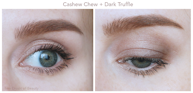 cashew chew, dark truffle, Too Faced