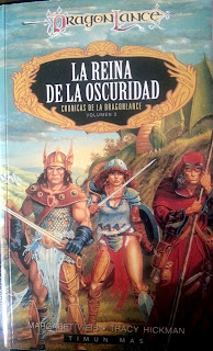 reseña La Reina de la Oscuridad - Crónicas de la Dragonlance