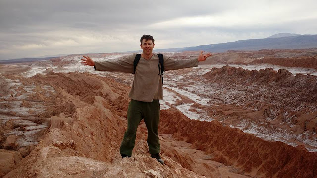 Valle de La Luna- not snow, but rather salt