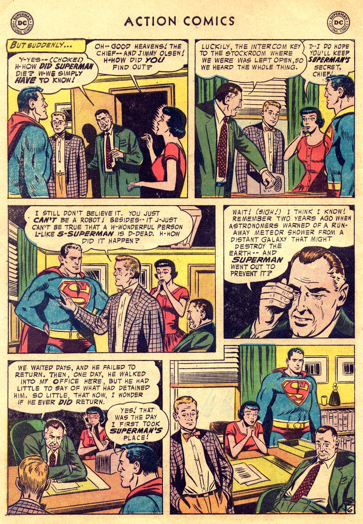 Read online Action Comics (1938) comic -  Issue #225 - 8