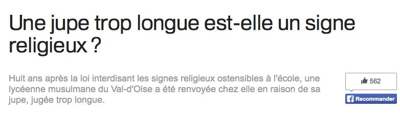 signes religieux ostensibles