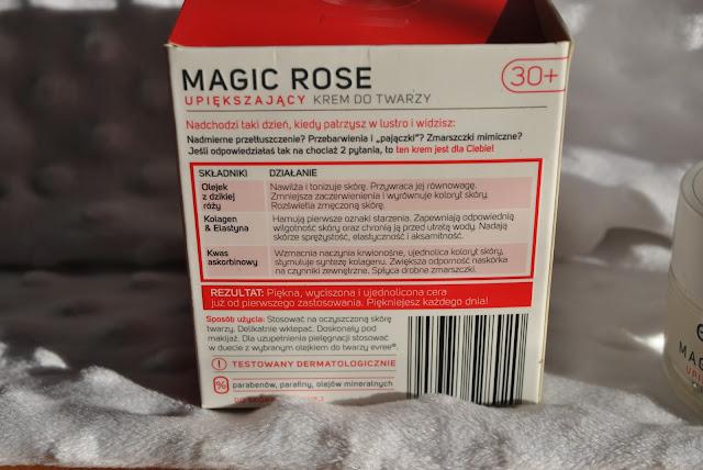 krem do twarzy 30+ olejek rózany kolagen i elastyna