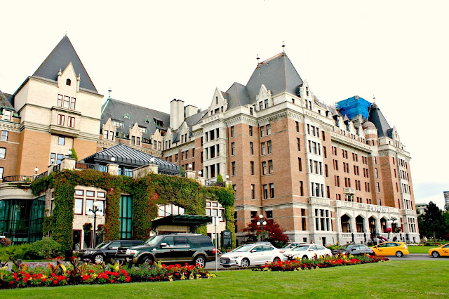 The historic Empress Hotel Victoria, British Columbia