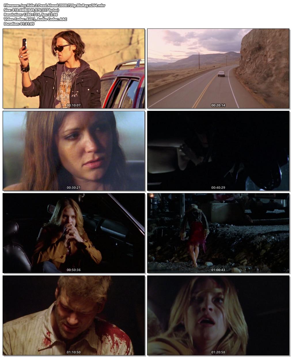 Joy Ride 2 Dead Ahead 2008 720p BluRay x264 | 480p 300MB | 100MB HEVC Screenshot