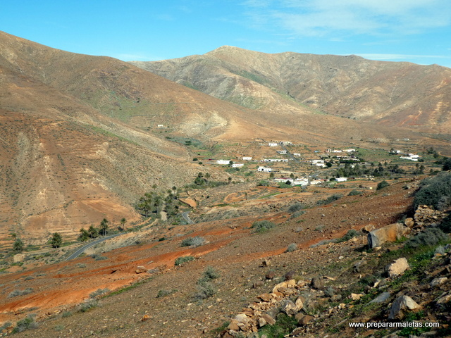 paisajes secos de Fuerteventura