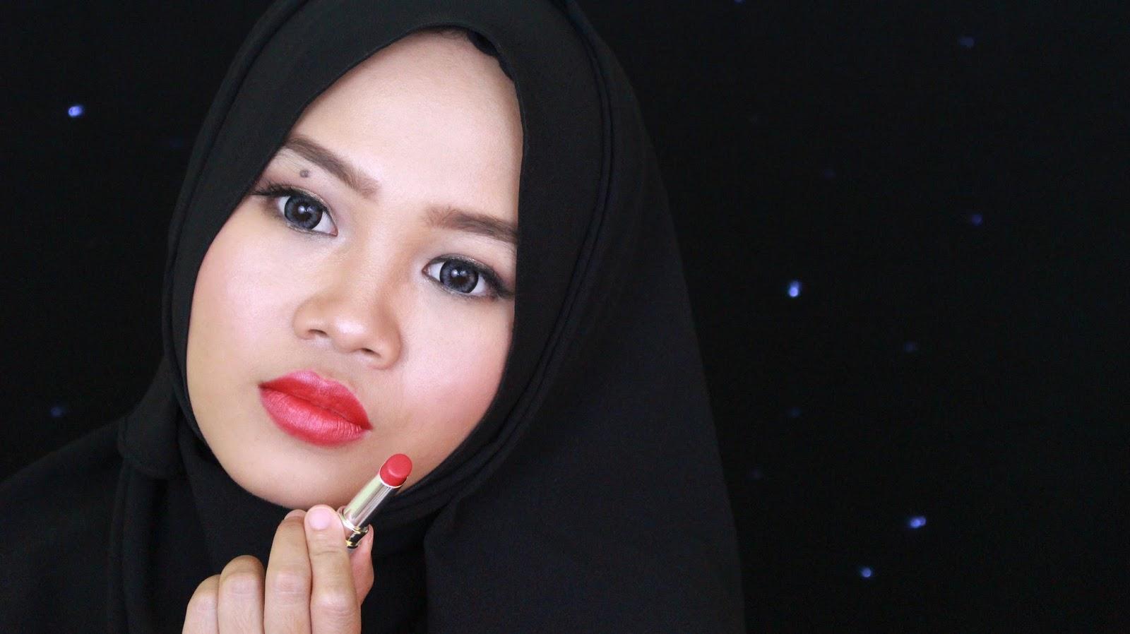 Review Wardah Intense Matte Lipstick Ofisu Redii Lipstik Retro Red