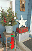 Junkers Unite With Outdoor Rustic Christmas Vignette