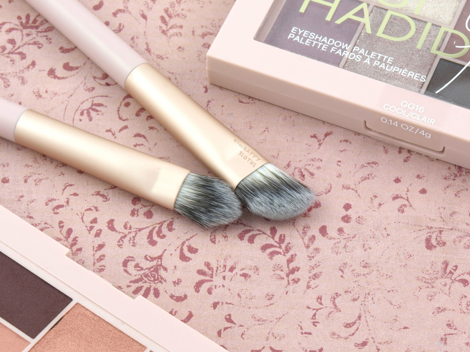 Maybelline x Gigi Hadid Eyeshadow Brushes: Review