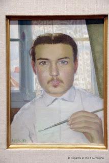 Autoportrait : Maurice Denis.
