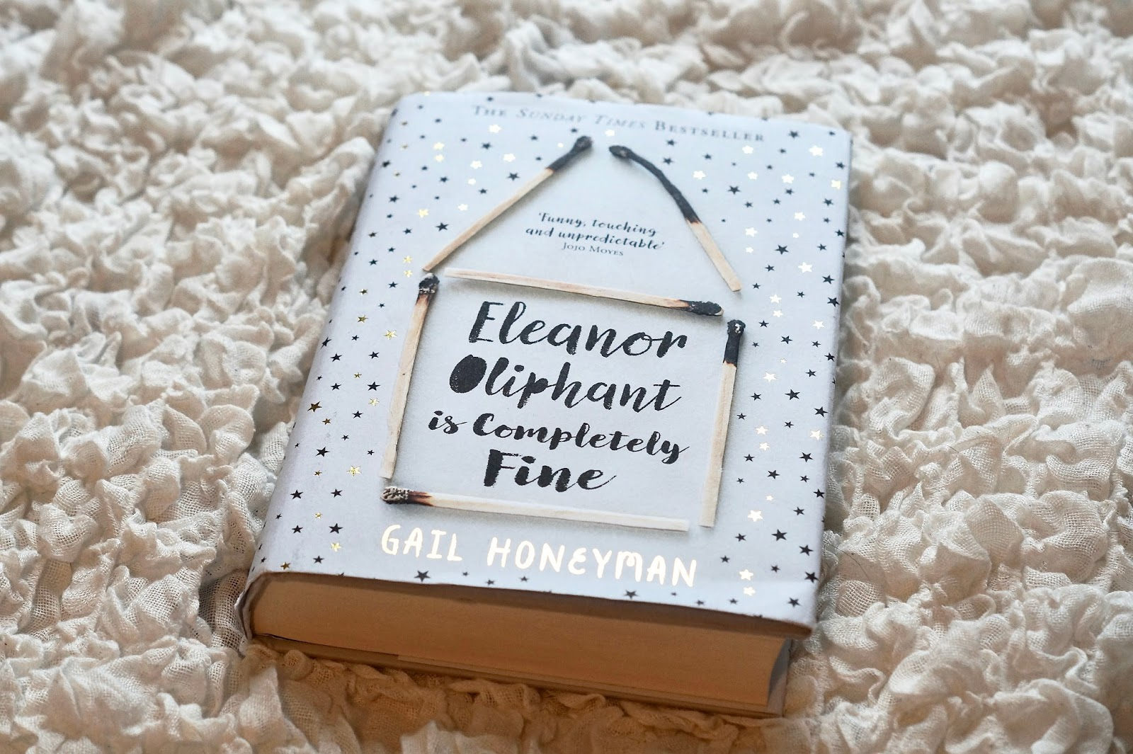 Beth Stumbles  Eleanor Oliphant is completely fine book review book review of eleanor oliphant is completely fine
