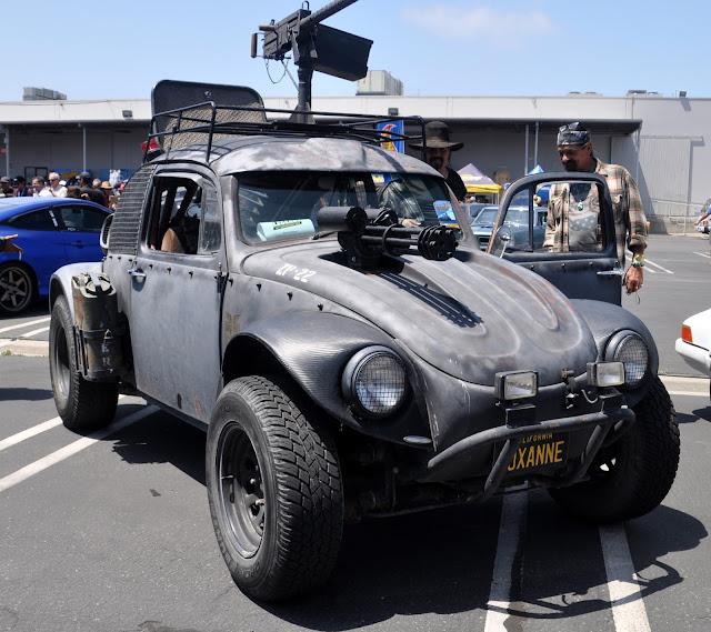 car guy roxanne  mad maxxed vw bug