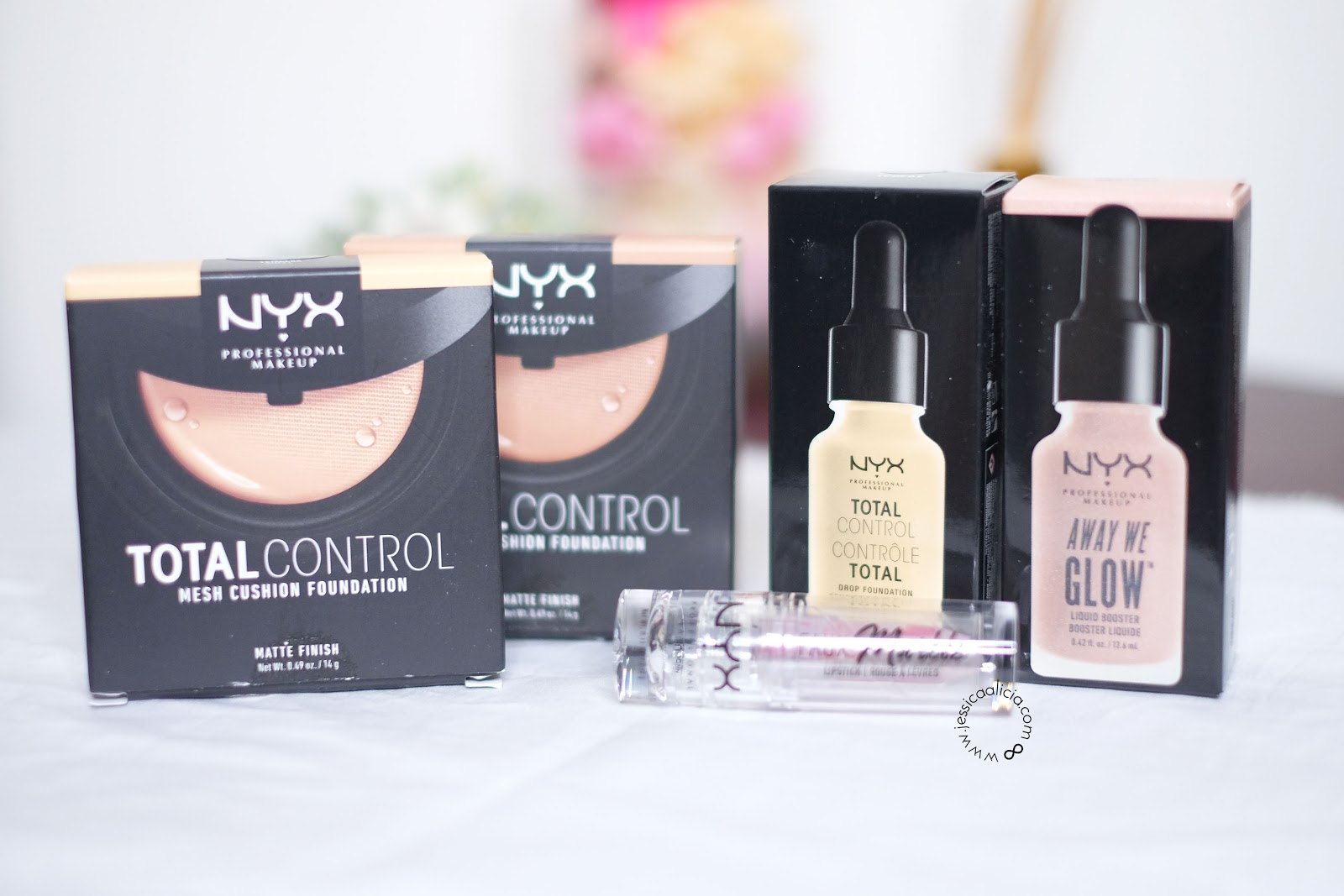 Review Nyx Cosmetics Total Control Mesh Cushion Foundation