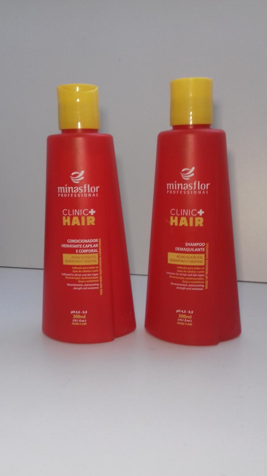 Shampoo e condicionador Minas flor - belanaselfie
