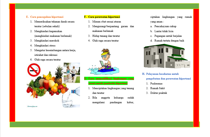 Leaflet Hipertensi Auto Iqra