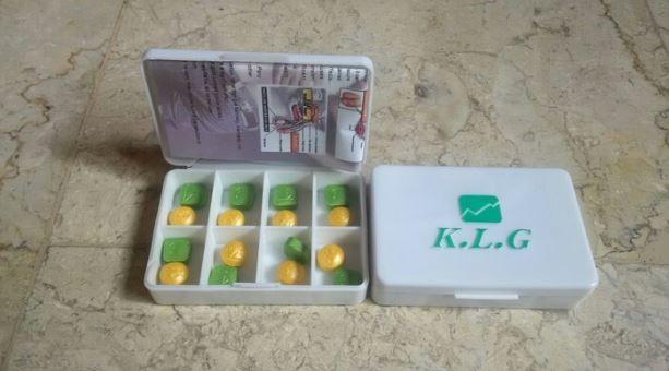 aturan minum k l g pills bundaily