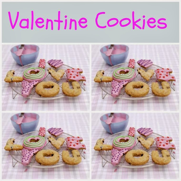 Valentine Cookies: Write Out I Love Your In Cookies