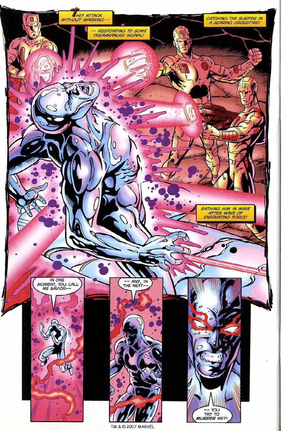 Read online Silver Surfer (1987) comic -  Issue #132 - 30