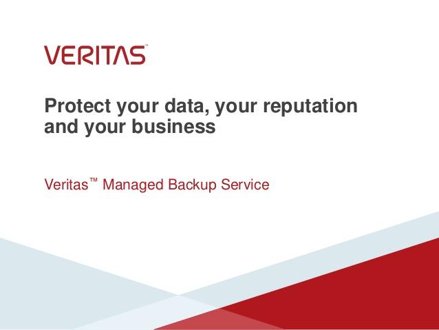 Veritas Backup Service