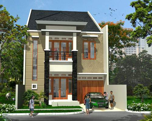 12 Model Rumah Terbaru Dua Lantai Chuyicy Com