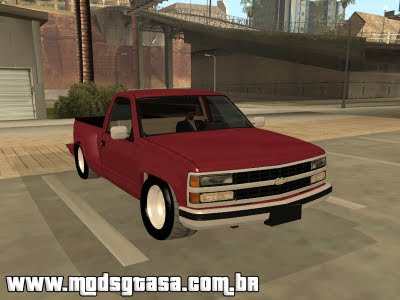 Chevrolet Silverado The Control para GTA San Andreas