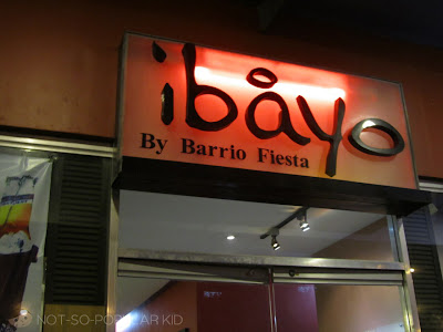 Ibayo by Barrio Fiesta in Mall of Asia