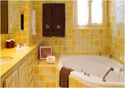Bathroom Ideas With Blue And Yellow Elegant