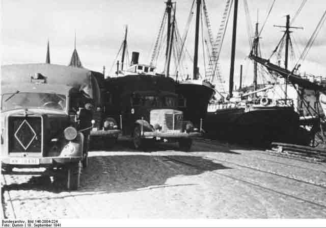 The harbor in Reval (Tallinn), Estonia, 18 September 1941 worldwartwo.filminspector.com