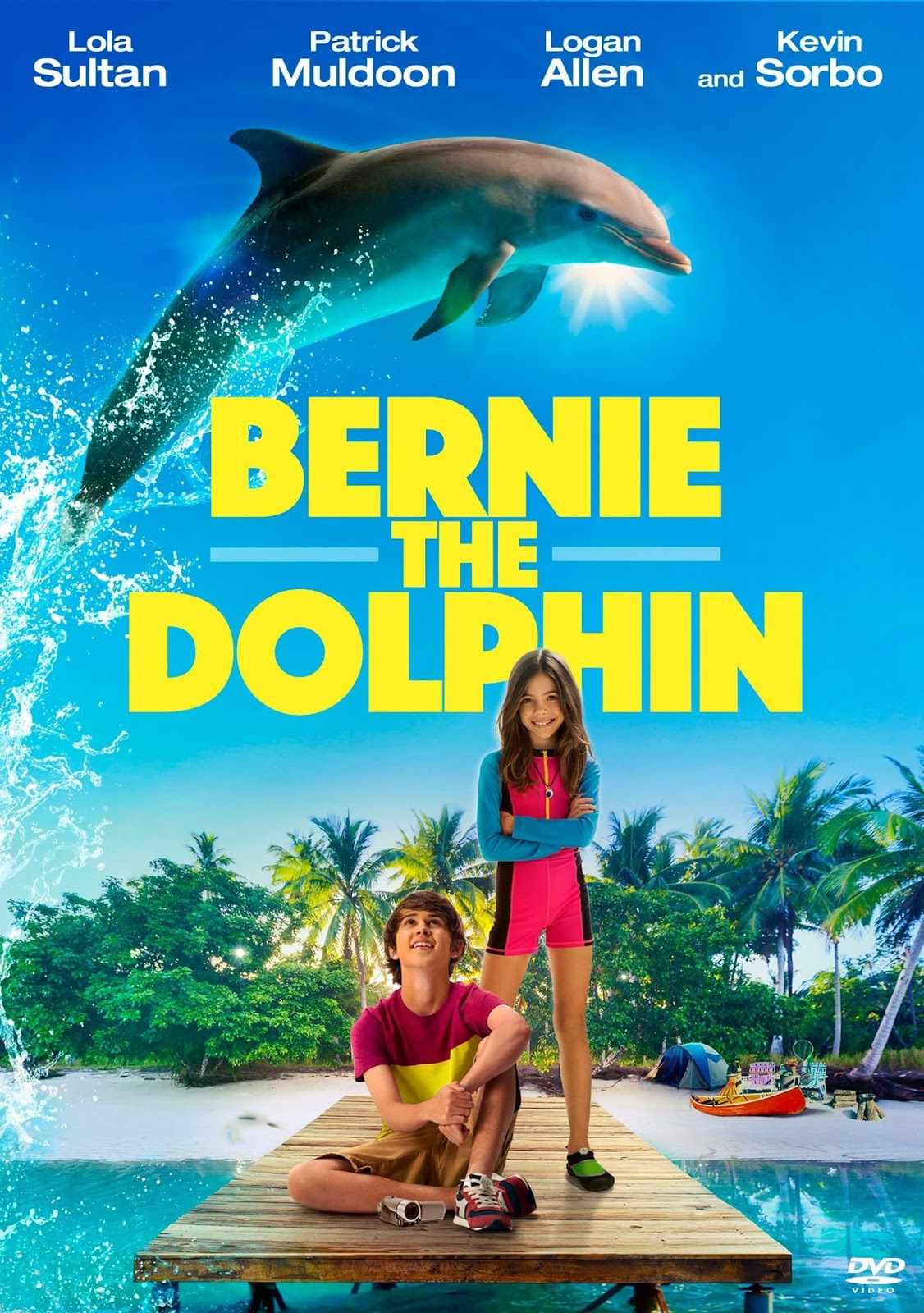 Bernie The Dolphin [2018] [CUSTOM HD] [DVDR] [NTSC] [Latino]