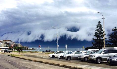 Σύννεφο, Τσουνάμι, Σίδνεϊ, Αυστραλία, Καταιγίδα, Time lapse Video, Pics 1