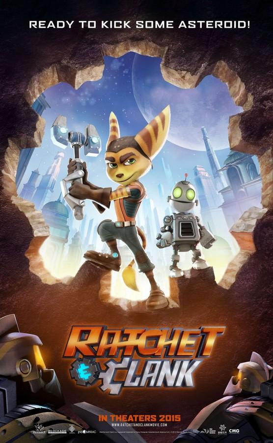 Heróis da Galáxia: Ratchet e Clank – HD 720p