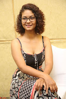 Actress Aditi Myakal Looks gorgeous in Sleeveless Deep Neck Top at Ami Tumi success meet ~  Exclusive 087.JPG