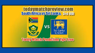3rd ODI RSA vs SL Today Match Prediction
