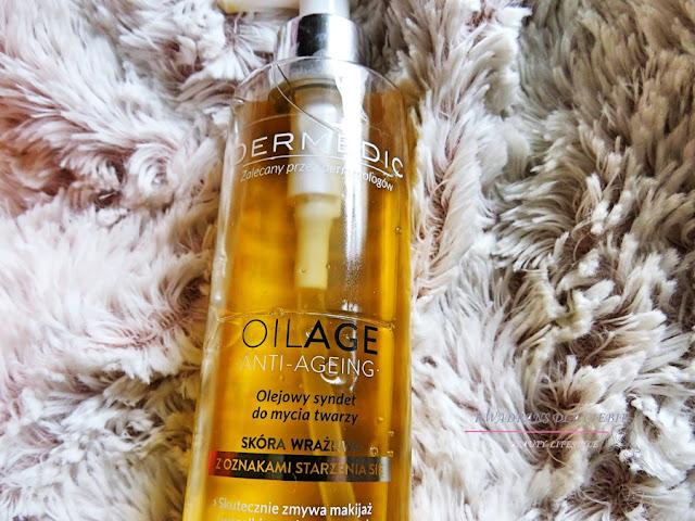 Dermedic Oilage Anti-Ageing Olejowy syndet do mycia twarzy, pielęgnacja twarzy, oczyszczanie twarzy, profilaktyka przeciwstarzeniowa, Kwadrans dla Ciebie, Dermedic Oilage Anti Ageing,
