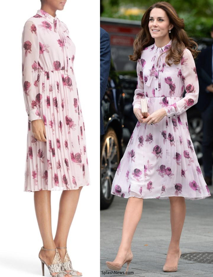 duchess kate kate in kate spade for world mental health day