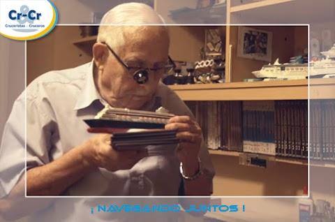 Pullmantur Cruceros estrena un documental que narra la conmovedora experiencia de un barcelonés de 93 años