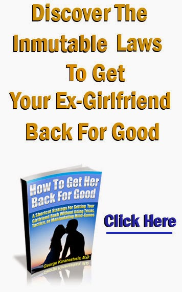 How to fight for your girlfriend back