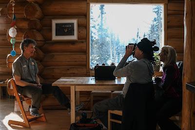 O diretores Don King e Rory Kennedy filmam entrevista de Dave Schirokauer - Divulgação