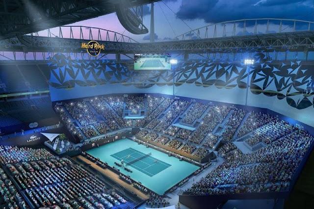 Torneio de Tênis Miami Open no Hard Rock Stadium