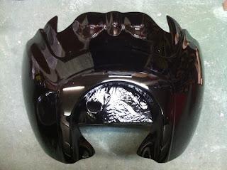 1288520154 - カスタムペイント工程 ハーレーダビッドソン FXR カウル