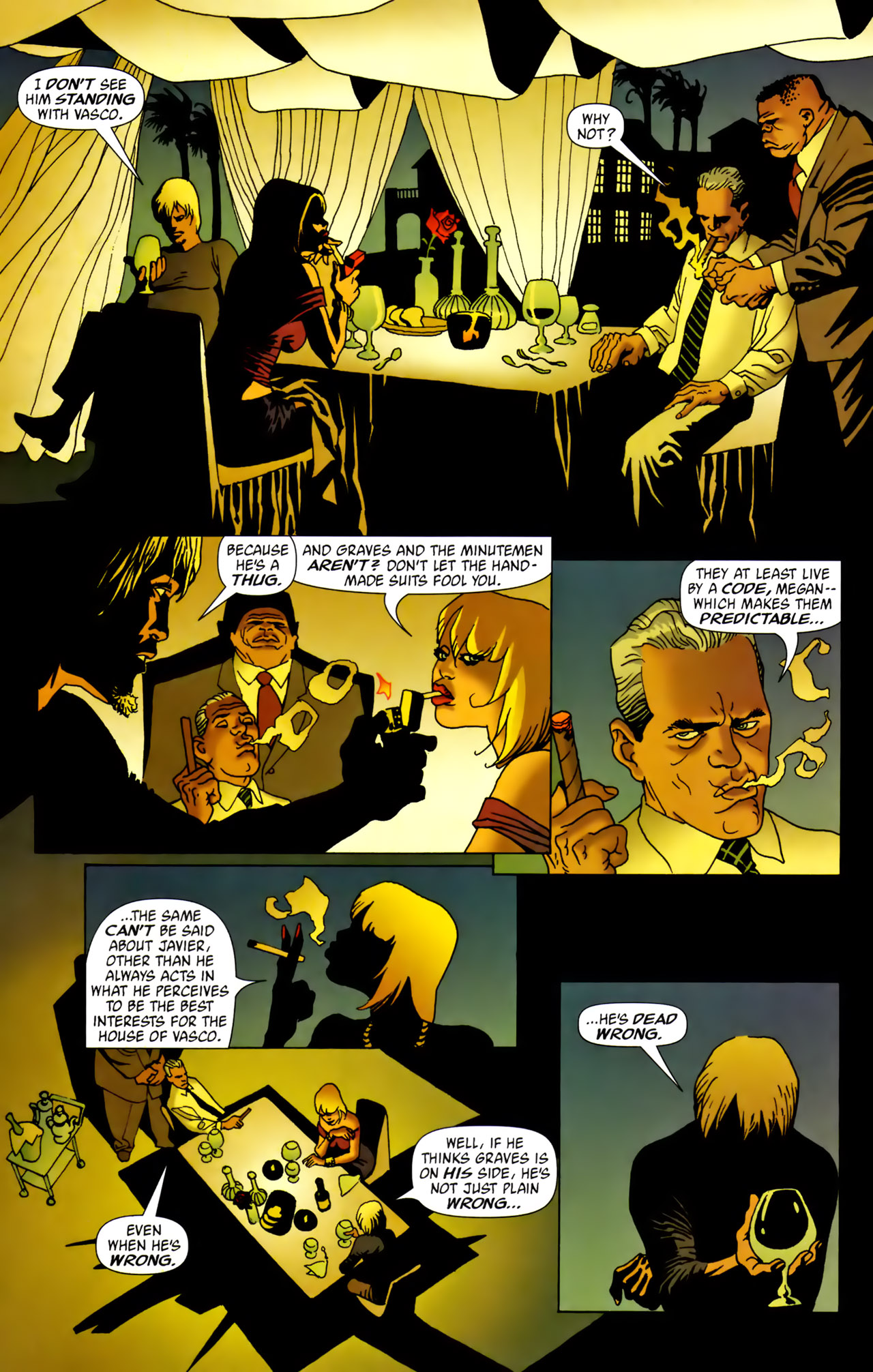 Read online 100 Bullets comic -  Issue #62 - 15