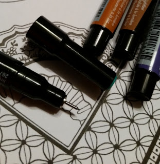 Prismacolor Premier­ Fine Tip Illustration Markers close up