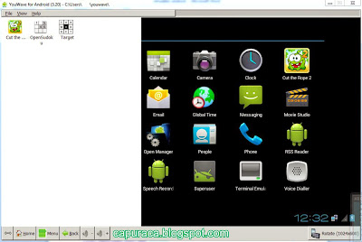 memainkan game android di PC