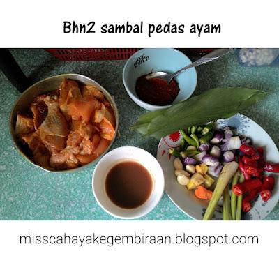 Resepi sambal pedas ayam