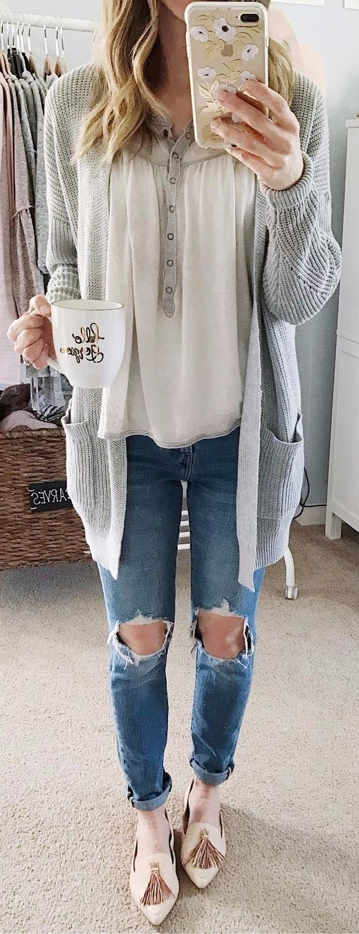 grey shades outfit