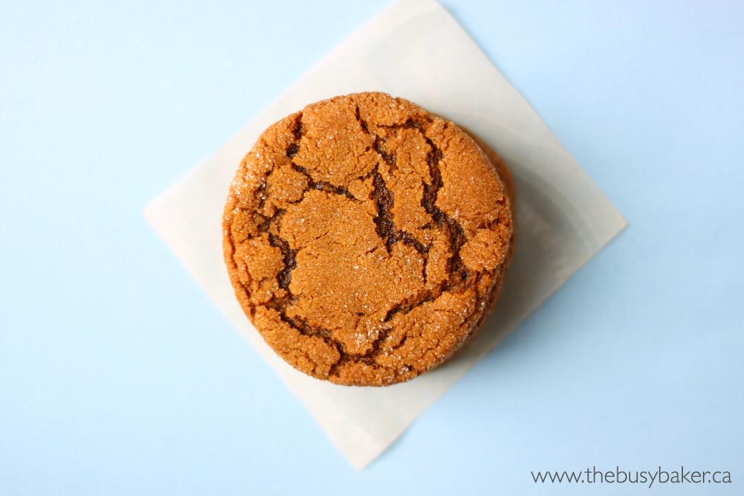 Best Ever Ginger Molasses Cookies Better Than Starbucks