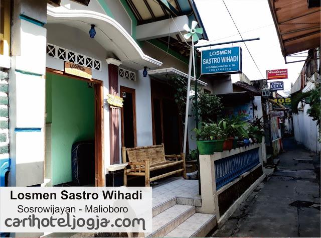 Hotel Murah Di Malioboro Losmen Sastro Wihadi
