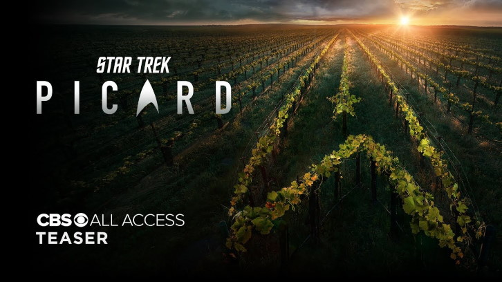 Star Trek: Picard - Teaser Promo, Promotional Poster + Press Release