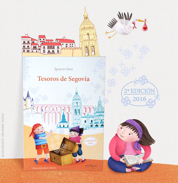 Tesoros Segovia Maria Albarran Ilustracion